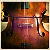 Double bass — Stock Photo