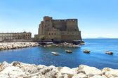 Castel dell'ovo, nápoles, itália — Foto Stock