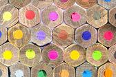 Colour pencils, texture — Stock Photo