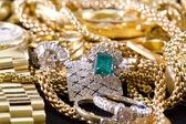 Joyas de oro — Foto de Stock