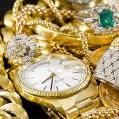 Zlaté šperky — Stock fotografie