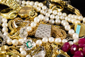 Gold Jewelry — Stock Photo