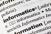 Informatics — Stock Photo