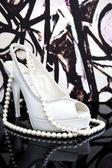 白鞋 — 图库照片