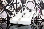 White Shoes — Stock Photo