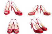 Zapatos rojos — Foto de Stock