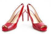 红鞋 — 图库照片
