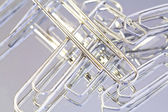 Metal paperclip — Stock Photo
