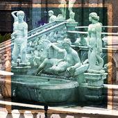 Palermo, piazza pretoria — Fotografia Stock
