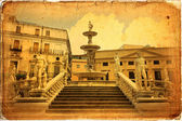 Palermo, Piazza Pretoria — Stock Photo