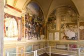 Monte Oliveto Maggiore  — Stock Photo