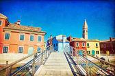 Burano, Venedik — Stok fotoğraf
