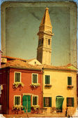 Burano, venedig — Stockfoto