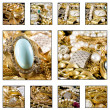 Gold jewels — Stock Photo #48540133