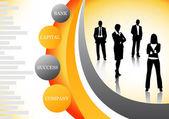 Business concept — Stok Vektör