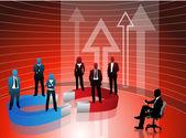 Koncepcja biznesowa — Wektor stockowy