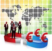 Conceito de negócio — Vetor de Stock