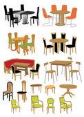 Furniture — Stock Vector