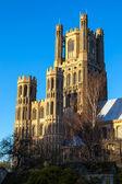Buitenaanzicht van de kathedraal van ely — Stockfoto