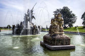 Witley Court classical fountain — Stock Photo