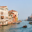 Stock Photo: View down Grand Canal in Venice