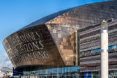 Millennium Centre Cardiff Bay — Stock Photo