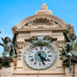 Clock on the roof of the Casino at Monte Carlo — Stock Photo
