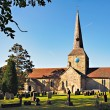 View of Horsted Keynes church on sunny autumn day — Stock Photo #38226947