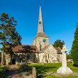 View of Horsted Keynes church on sunny autumn day — Stock Photo #38226965