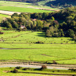 Stock Photo: Scenic view of rolling Sussex countryside