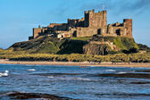 View of Bamburgh Castle — Stock Photo