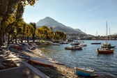 View of Lake Como from Lecco — Stock Photo