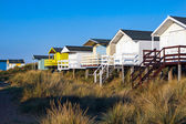 Beach huts in Old Hunstanton — Stock Photo