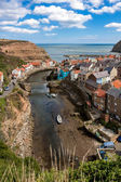 Looking down over Staithes — Stock Photo
