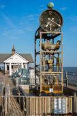 Southwold Pier waterclock — Photo