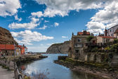 View of Staithes — Stock Photo