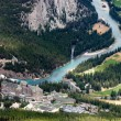 The Fairmont Banff Springs Hotel and Golf Course — Stock Photo