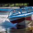 Stock Photo: Powerful speed boat