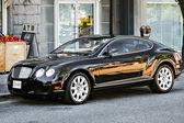 Canadian Black Bentley — Stock Photo