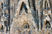 Gaudi la sagrada familia barcelona — Foto Stock