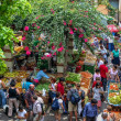 Bustling Funchal market in Madeira — Stock Photo #38300671
