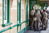 Dad's army — Stock Photo