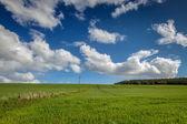 Arable landscape near Drumderfit — Stock Photo