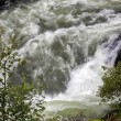 Stock Photo: Raging torrent escaping from Loch Morar
