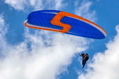 Paragliding at Devil's Dyke — Foto Stock