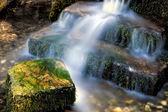 крошечный водопад в суссексе — Стоковое фото