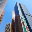 Financial district of Los Angeles — Stock Photo #38590215