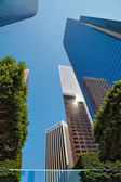 Financial district of Los Angeles — Stock Photo