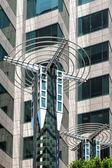 Unusual building in Los Angeles — Foto Stock