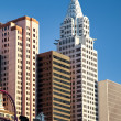 Stock Photo: New York New York hotel in Las Vegas